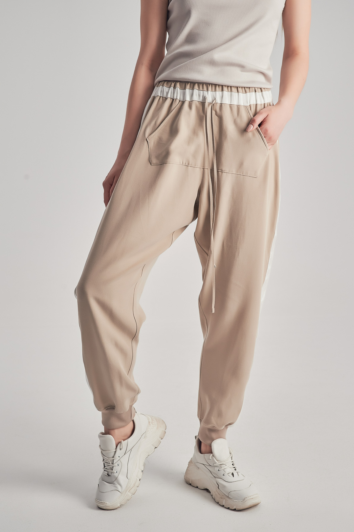 Pantaloni Ashley Bej