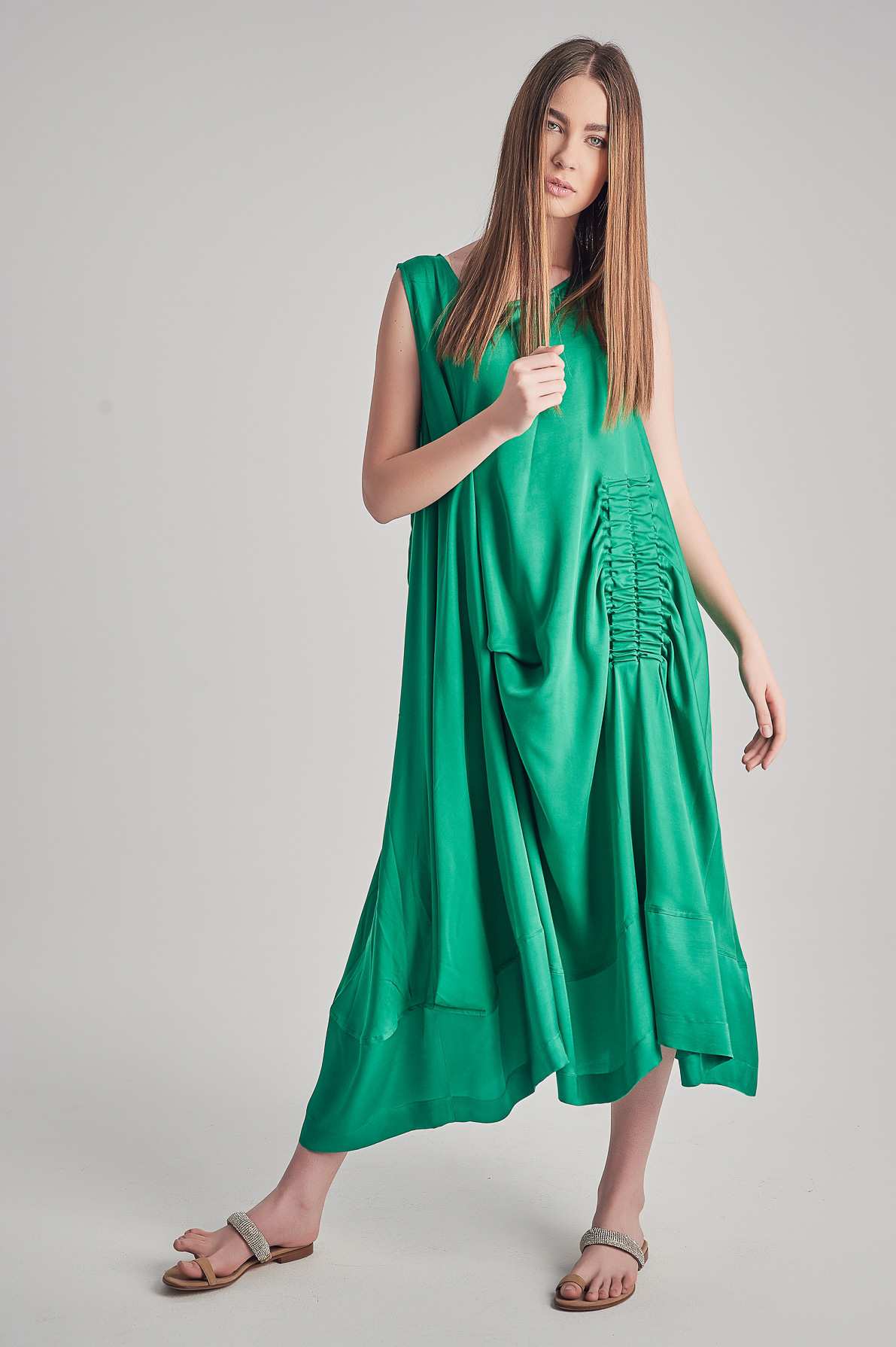 Rochie Green Kiara