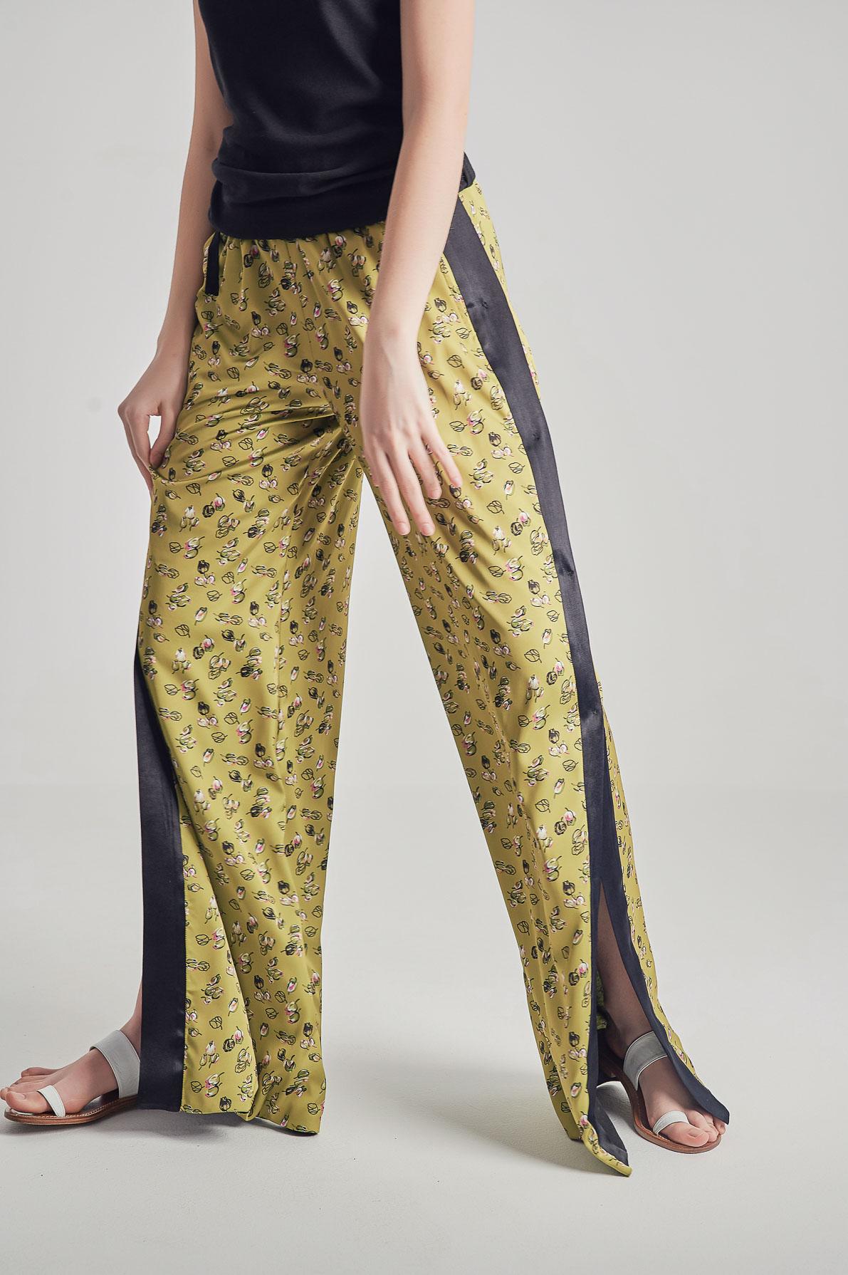 Pantaloni Green Blossom
