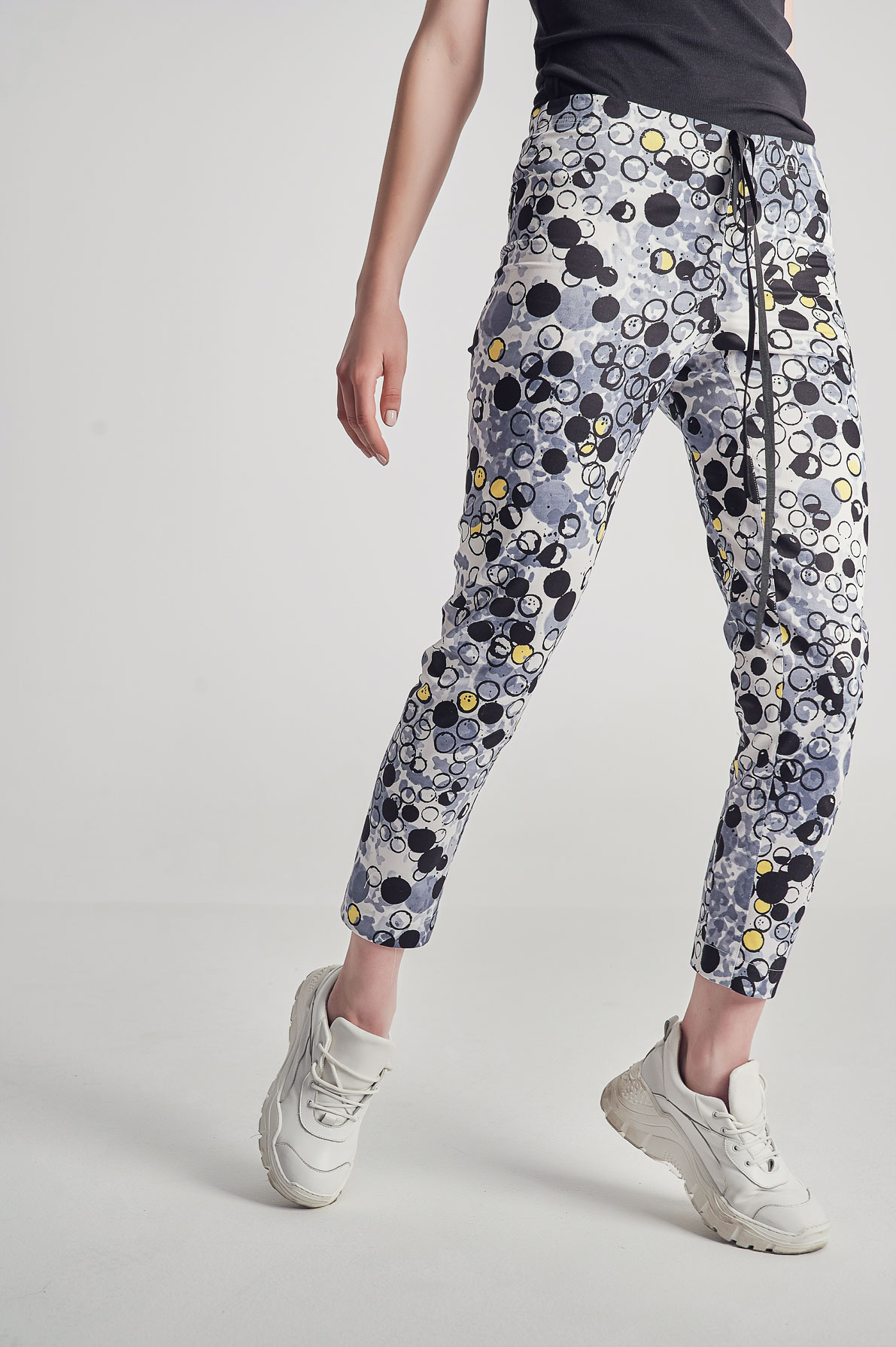 Pantaloni Bubble Pop gri