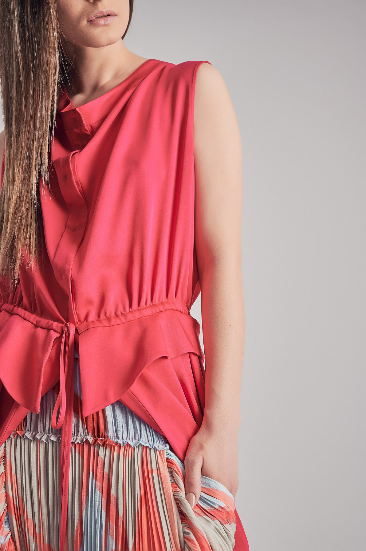 Rochie-jachetă Shivaree Roșie