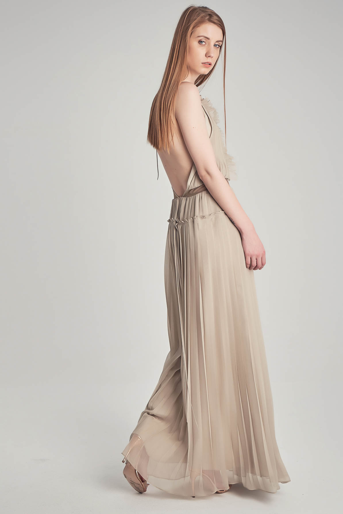 Lulu Gold Dress