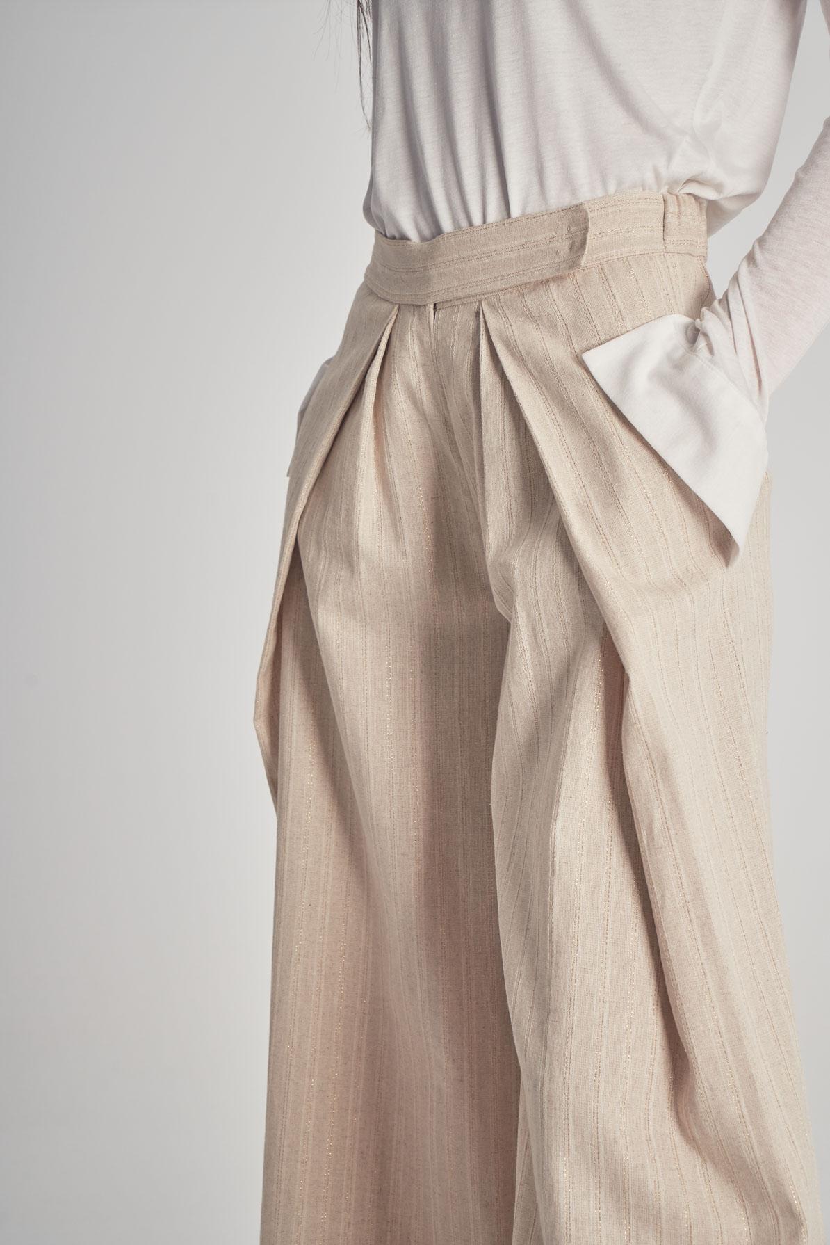 Pantaloni Gold