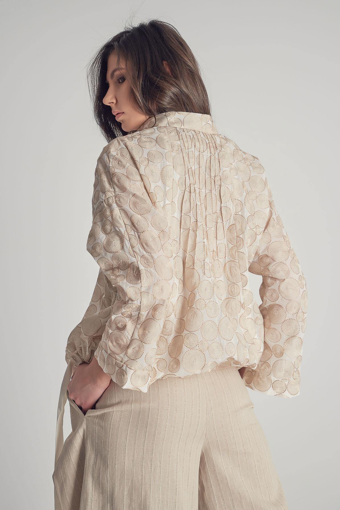 Jachetă Gold