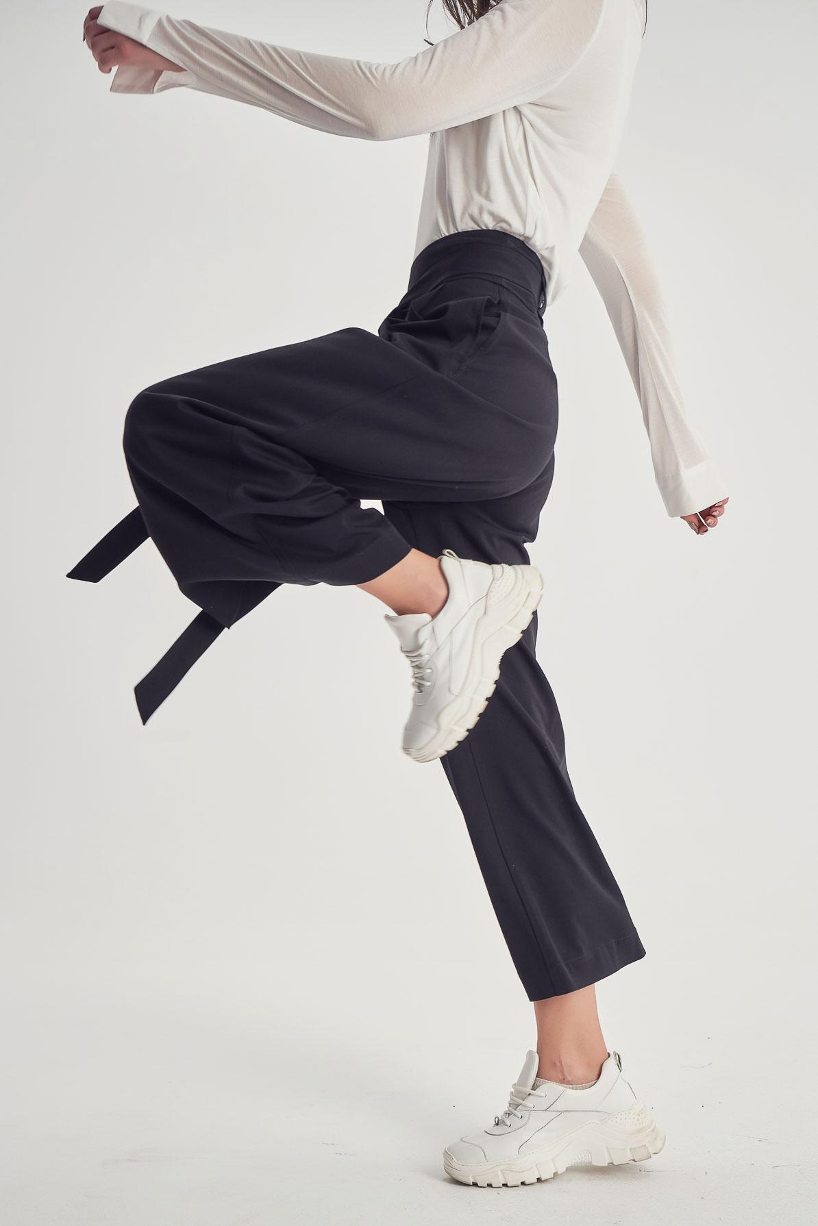 Pantaloni Verre Black