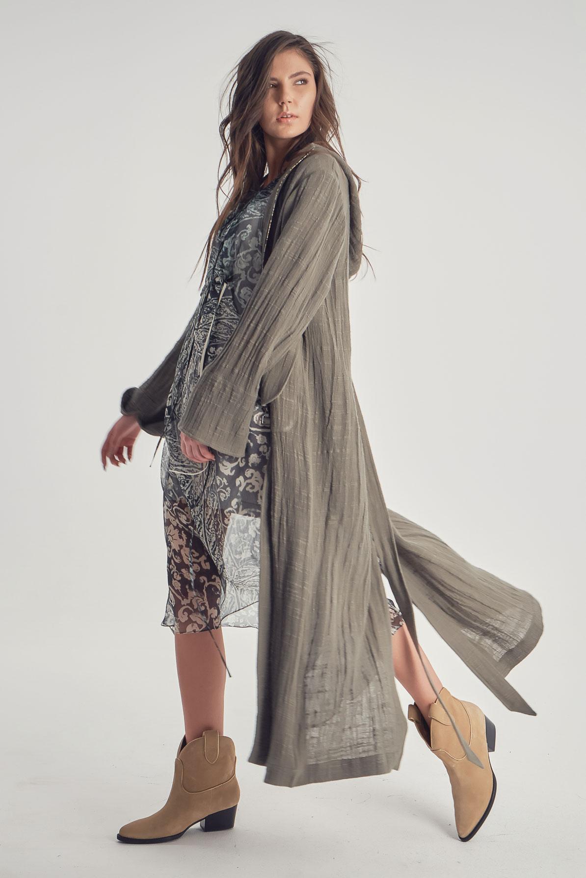 Trenci Khaki Linen