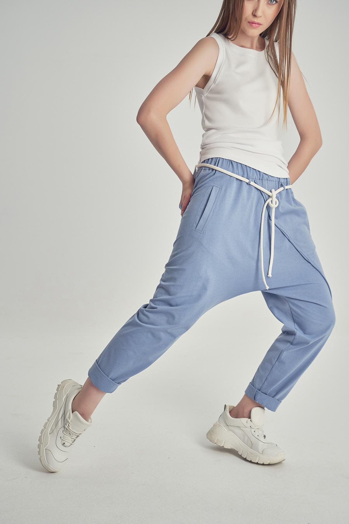 Pantaloni Lehana Blue