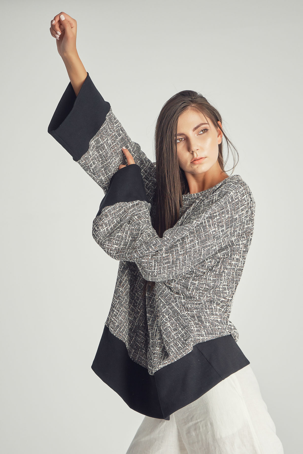 Bluză Tweed