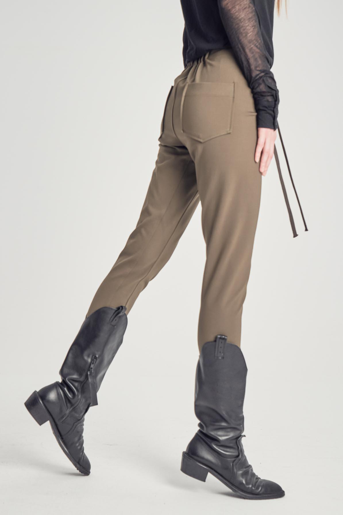 Pantaloni Keira Khaki
