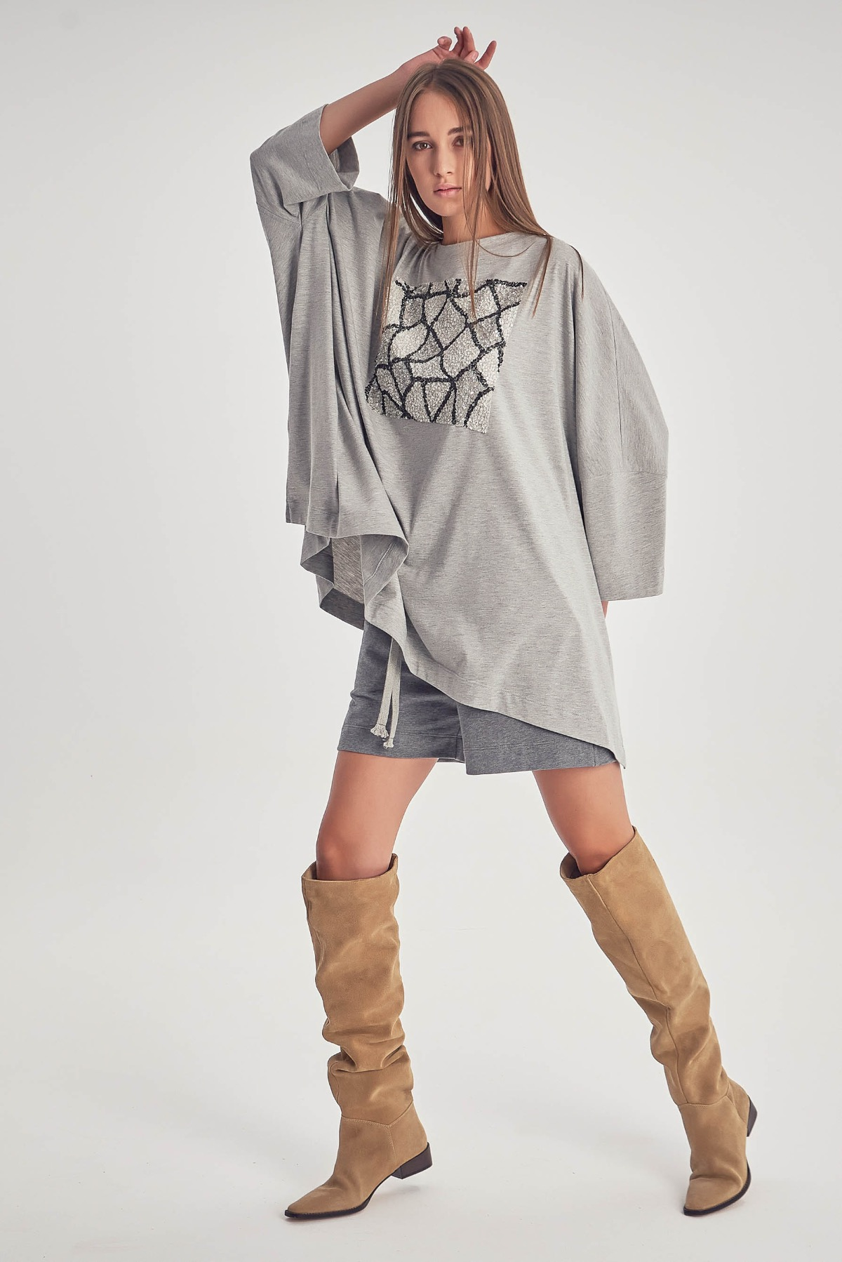 Bluza Grey Iunia