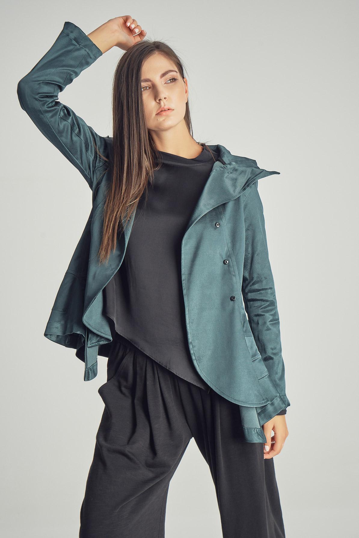 Jachetă Green Flower