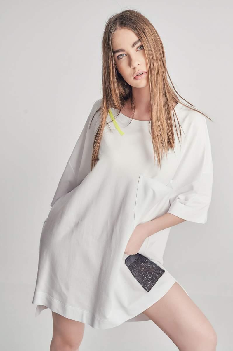 Rochie-tricou Neoline