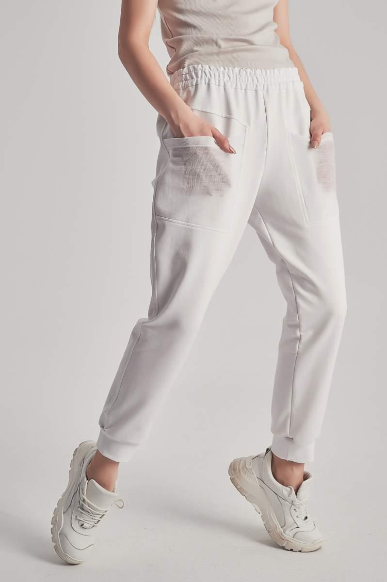 Pantaloni Tulle Albi