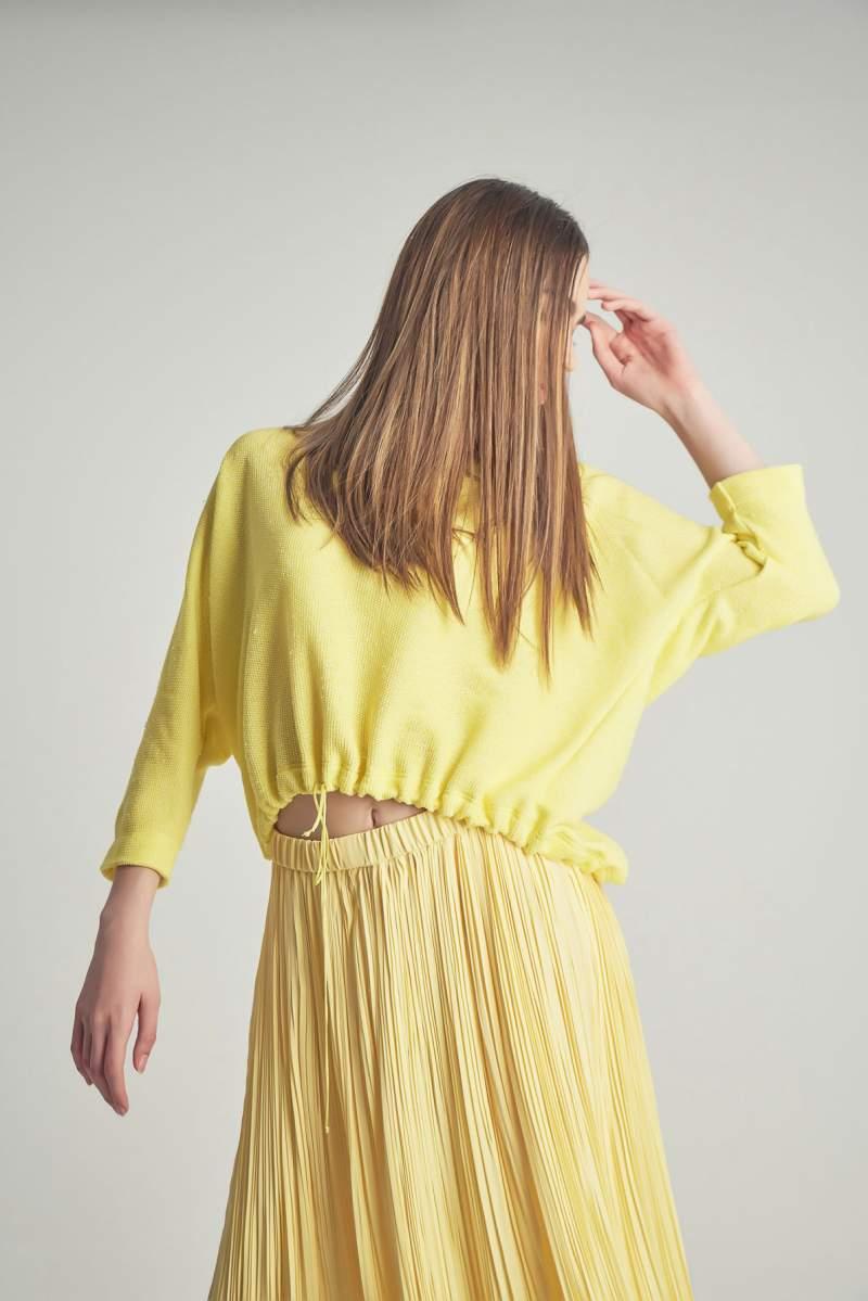Bluză Vintage Galbenă