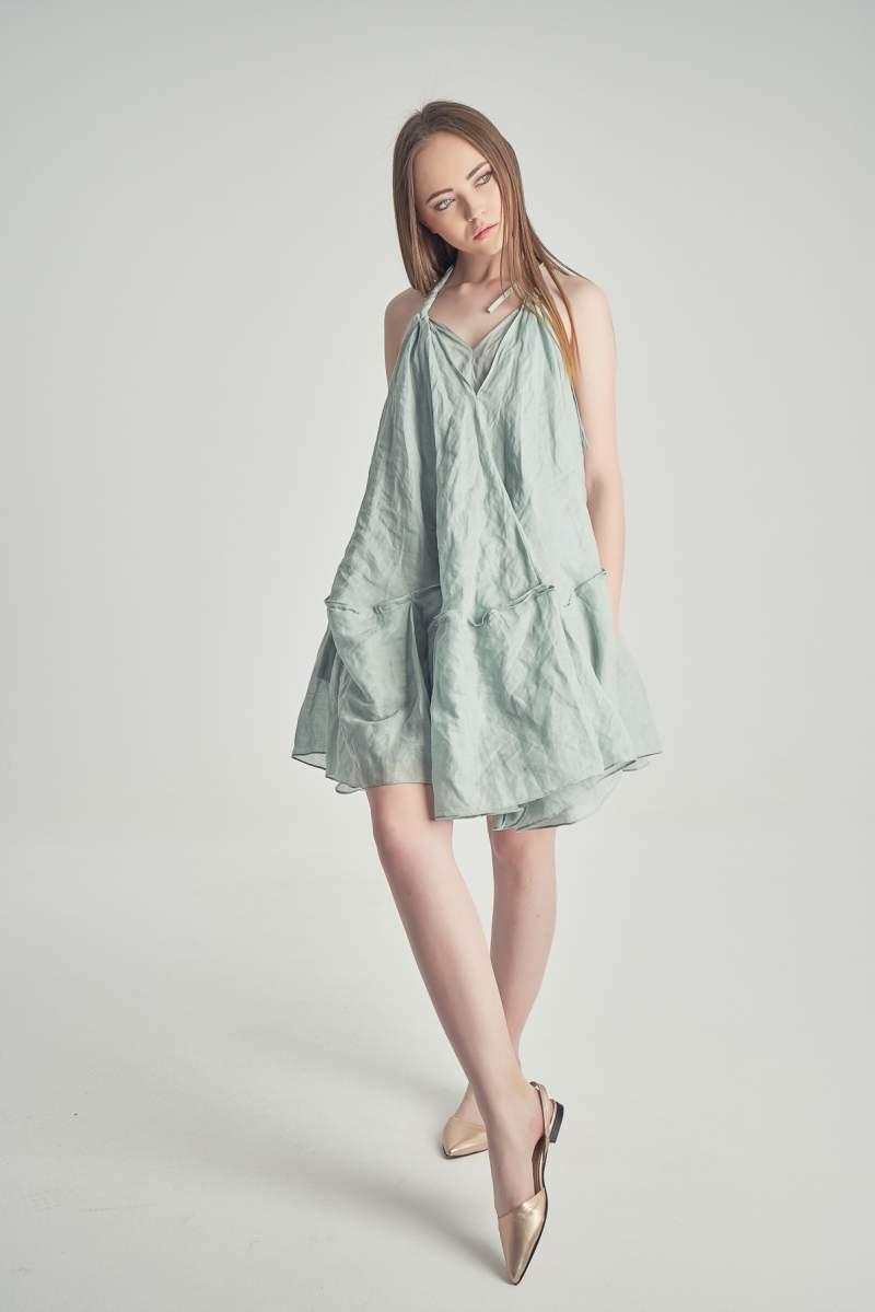 Rochie Peony Albastră