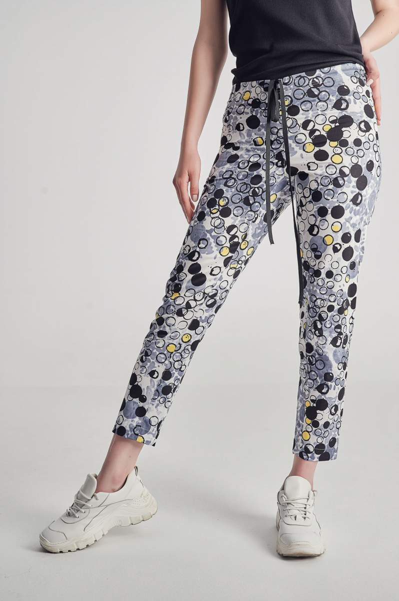 Pantaloni Bubble Pop gri