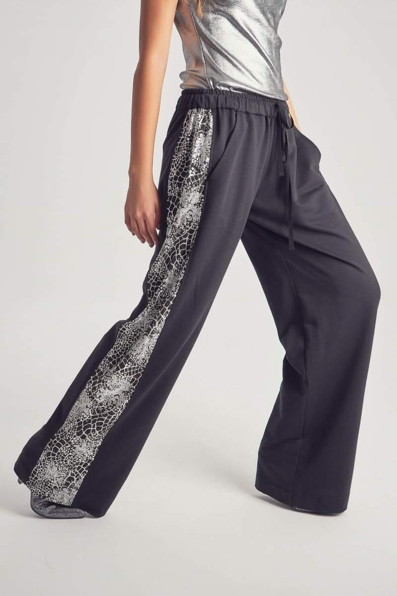 Pantaloni Argint