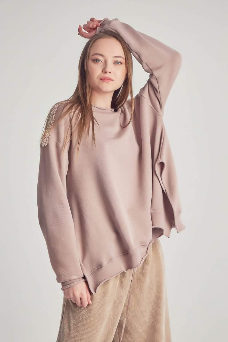 Bluza Beige Rose Feminity