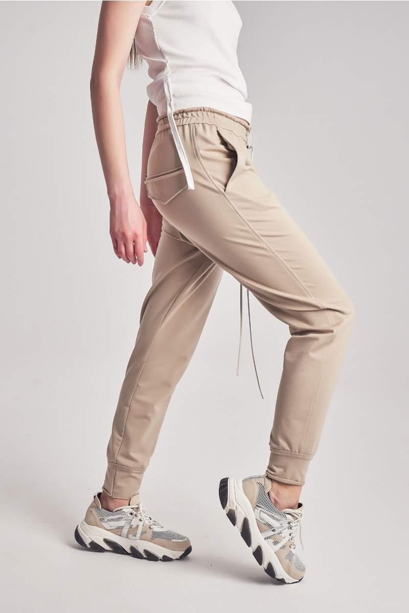 Pantaloni Cruise Beige