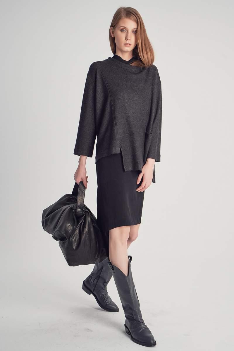 Bluză Knitted Jinx Black