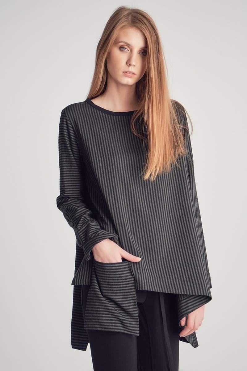 Bluză Phoebe Grey