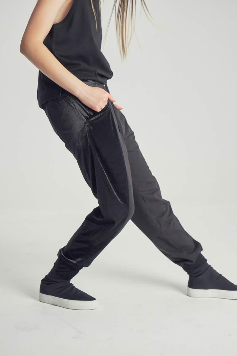 Pantaloni Black Velvet