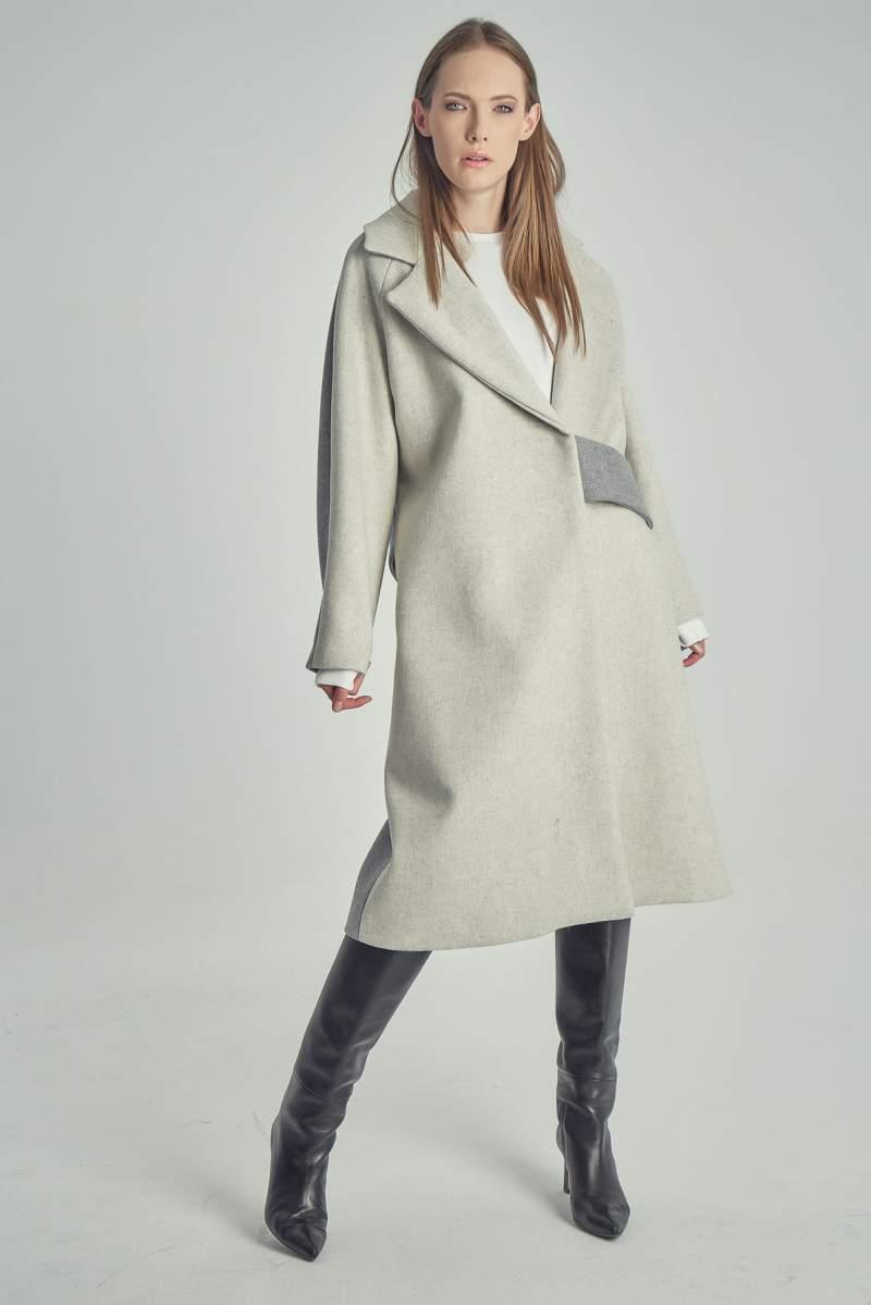 Palton Alpaca Ivoire