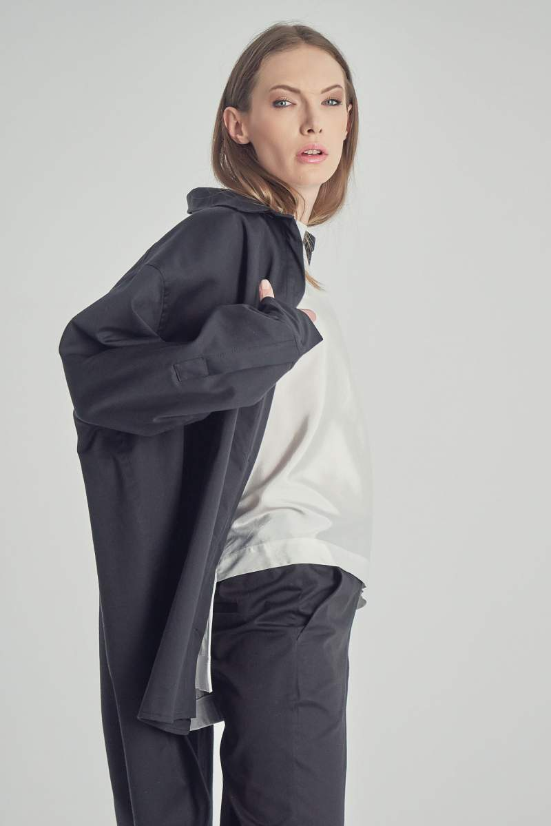 Jacheta/Cămașă Black
