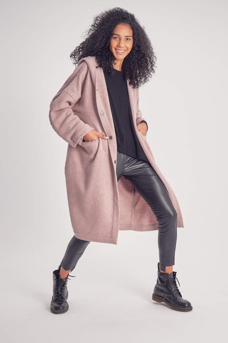 Palton Simple Cashmere