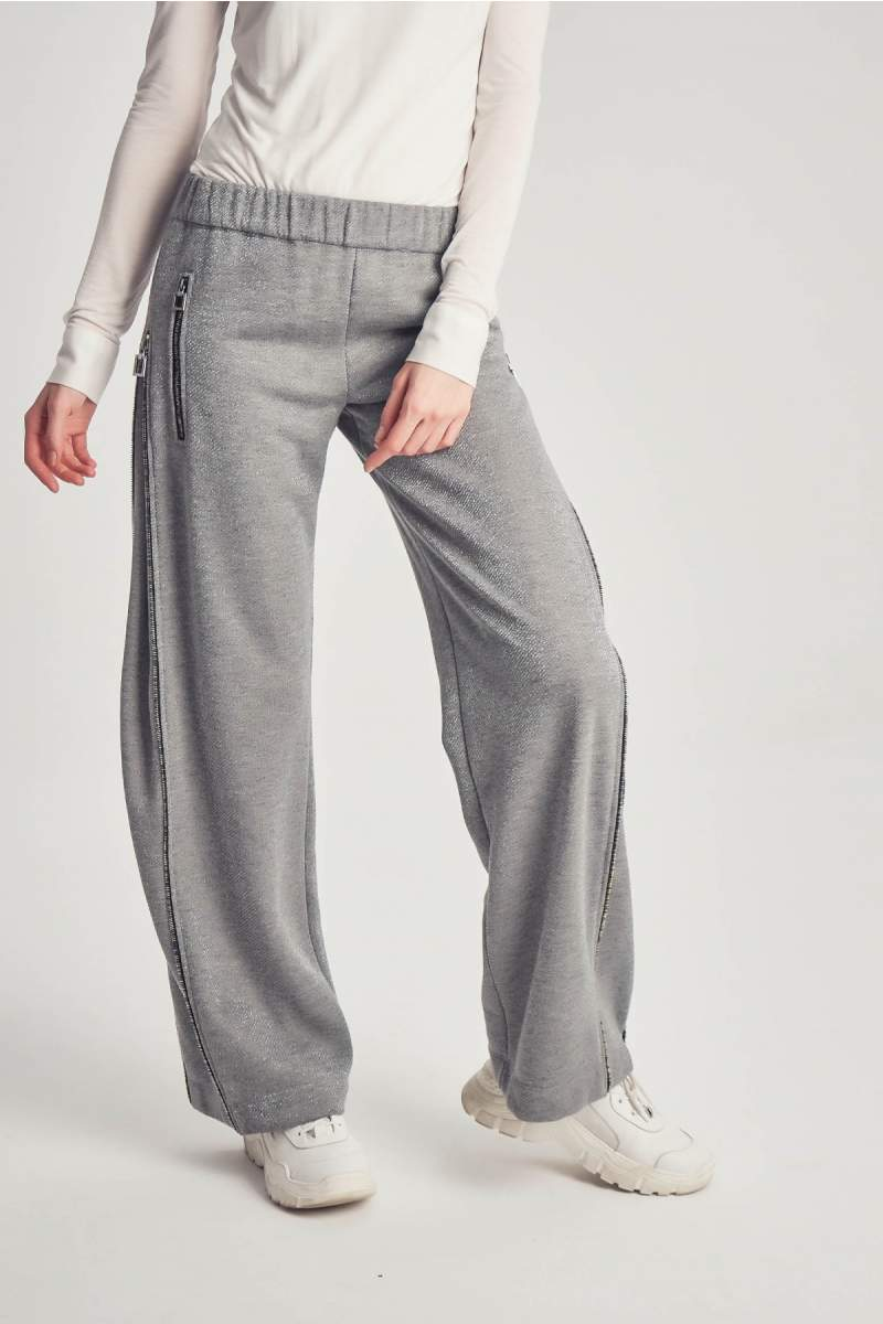 Lurex Zipline Pants