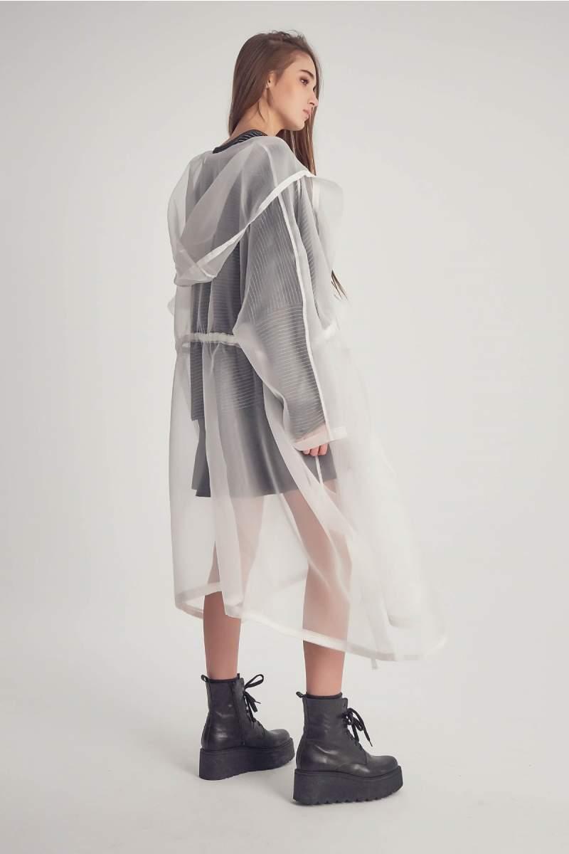 Jachetă White Silky