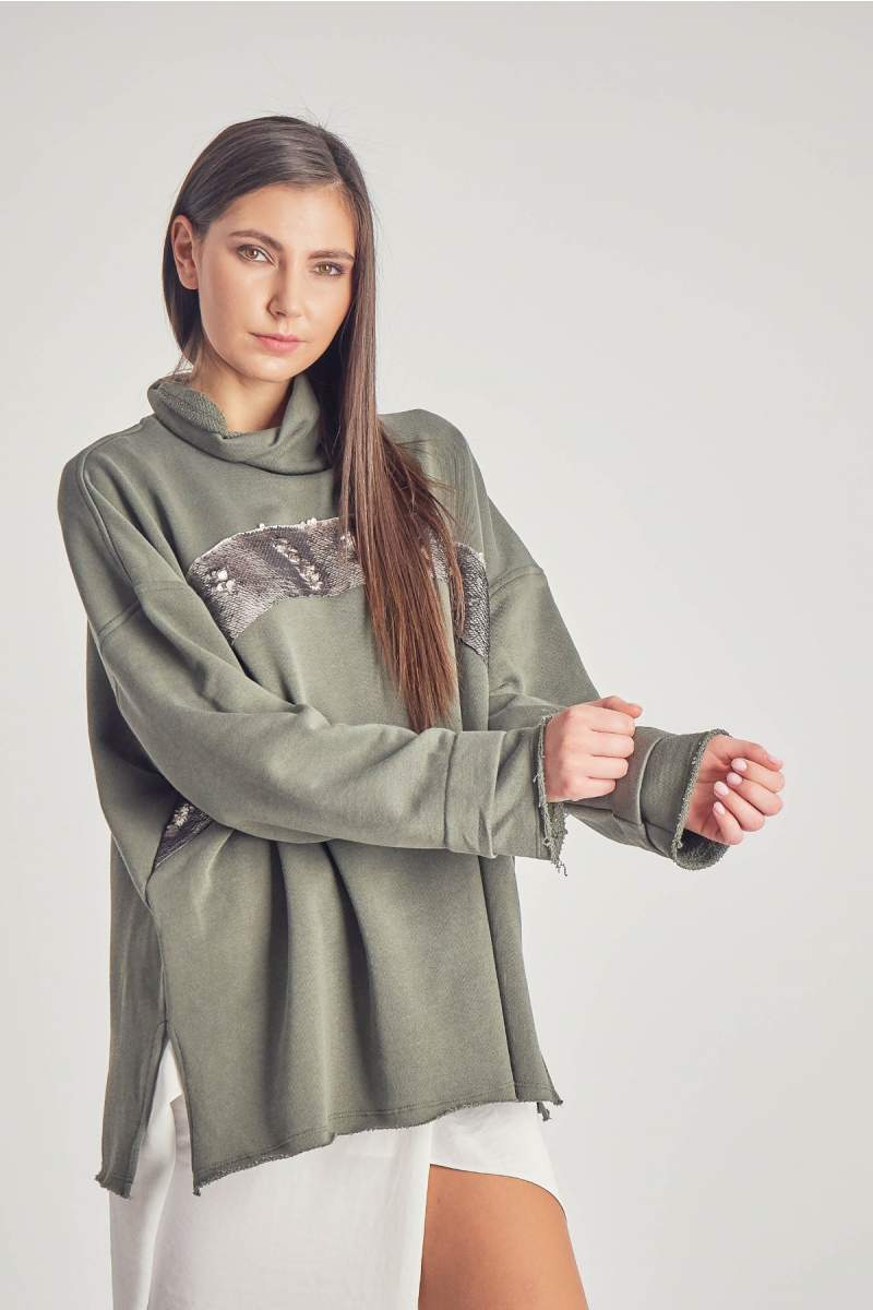 Bluza Xandra Khaki