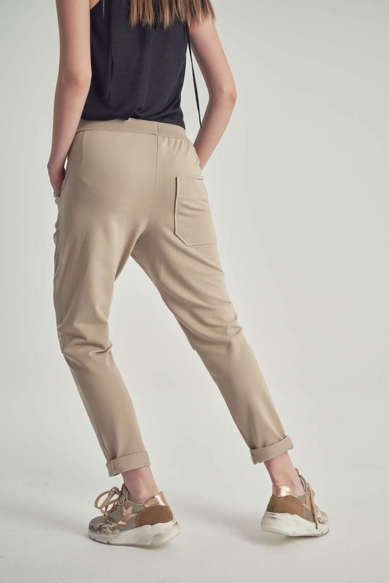Pantaloni Nala Bej