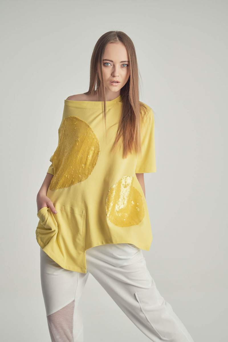 Tricou Yellow Moon